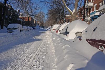 Muss man hier noch weiter den Schnee räumen?