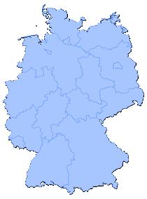 Wählen Sie ein Bundesland aus!